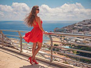 chaussures femmes talon rouge