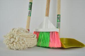 une entreprise de nettoyage