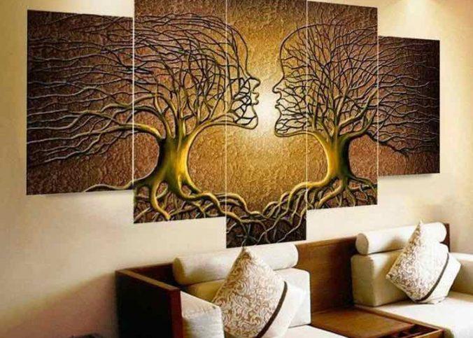 tableau moderne pour la décoration